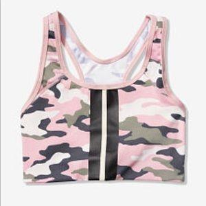 VS Pink Ultimate Gym Racerback Sports Bra